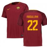 maillot as roma abdullahi 2017-2018 domicile