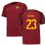 maillot as roma defrel 2017-2018 domicile