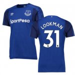 maillot everton lookman 2017-2018 domicile