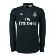 maillot real madrid manche longue 2018-2019 exterieur