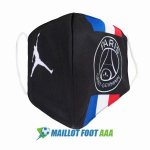 masques paris saint germain noir bleu blanc rouge 2020-2021