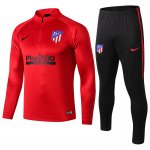 survetement atletico madrid 2019-2020 fermeture eclair rouge