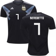 maillot argentine benedetto 2018 exterieur