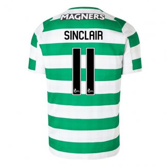 maillot celtic sinclair- 2018-2019 domicile