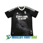 maillot real madrid edicion speciale humanrace 2020-2021 noir