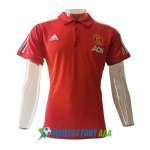 polo manchester united 2020-2021 rouge (1)