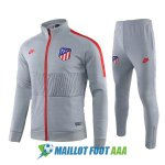 veste atletico madrid 2019-2020 ensemble-complet gris rouge