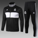 veste real madrid 2018-2019 ensemble complet noir