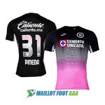 maillot cruz azul commemoratif 2020-2021 rose noir