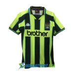 maillot manchester city retro 1998-1999 neutre