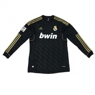 maillot real madrid retro manche longue 2012 exterieur