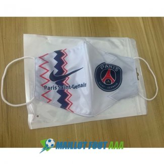 masques paris saint germain blanc 2020-2021
