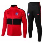 veste atletico madrid 2019-2020 ensemble-complet rouge noir
