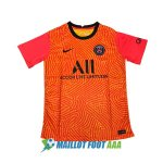 maillot paris saint germain gardien 2020-2021 orange