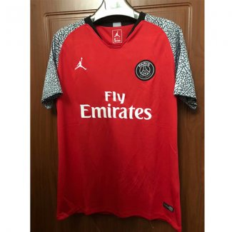 maillot psg edition limitee rouge 2018-2019