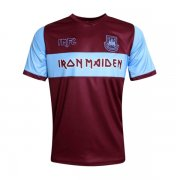 maillot west ham united iron maiden edicion speciale 2019-2020 rouge bleu
