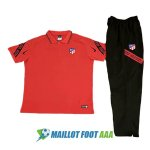 polo kit atletico madrid entrainement 2020-2021 rouge