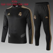 survetement real madrid enfant 2019-2020 col haut noir