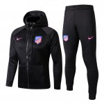 sweat a capuche atletico madrid 2017 2018 ensemble complet noir
