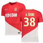 maillot as monaco almamy toure 2017-2018 domicile