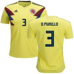 maillot colombie o murill 2018 domicile