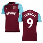 maillot west ham carroll 2017-2018 domicile