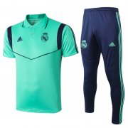 polo kit real madrid entrainement 2019-2020 vert