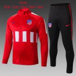 veste atletico madrid enfant 2019-2020 ensemble-complet rouge