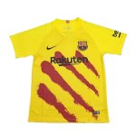 maillot barcelone entrainement 2019-2020 jaune