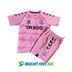 maillot everton gardien enfant 2020-2021 rose