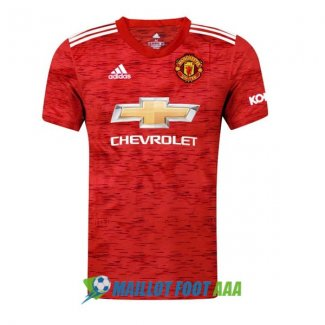 maillot manchester united 2020-2021 domicile