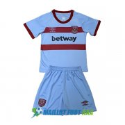 maillot west ham united enfant 2020-2021 exterieur