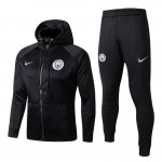 sweat a capuche manchester city 2017 2018 ensemble complet noir
