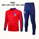 veste atletico madrid enfant 2018 ensemble complet rouge