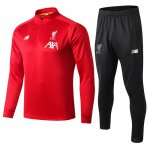 chandal liverpool 2019-2020 fermeture eclair rouge