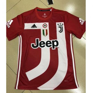 maillot juventus edition speciale 2018-2019 rouge