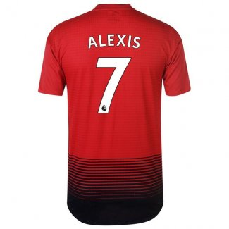 maillot manchester united alexis 2018-2019 domicile