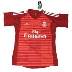 maillot real madrid gardien 2018-2019 rouge