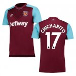 maillot west ham chicharito 2017-2018 domicile