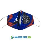 masques paris saint germain bleu rouge camouflage 2020-2021