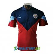 polo manchester city 2020-2021 bleu rouge