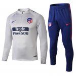 survetement Atletico Madrid 2018 2019 fermeture eclair gris