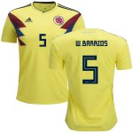 maillot colombie w.barios 2018 domicile