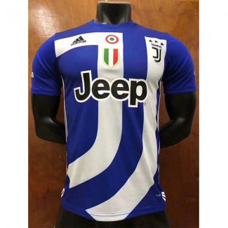 maillot juventus edition speciale 2018-2019 bleu fonce