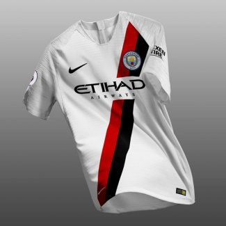 maillot manchester city entrainement 2018-2019 blanc