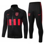 veste atletico madrid 2019-2020 ensemble-complet noir