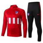 veste atletico madrid 2019-2020 ensemble-complet rouge blanc