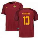 maillot as roma kolarov 2017-2018 domicile