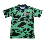 maillot barcelone entrainement 2019-2020 camouflage vert
