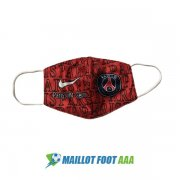 masques paris saint germain rouge fonce noir 2020-2021